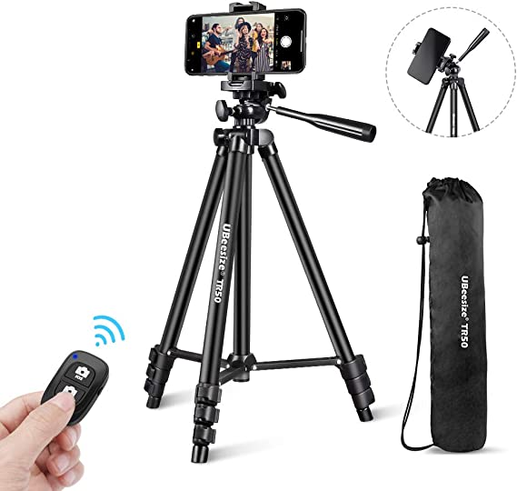 3 in 1 Bluetooth Remote Shutter Portable Handle Selfie Stick Mini Table Tripod for iOS Android for DSLR Shooting Video Camcorder Professional Video Tripod Durable Phone Tripod