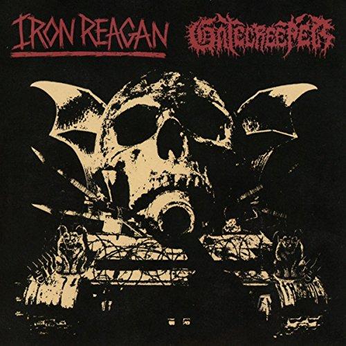 CD : IRON REAGAN AND GATECREEPER - Iron Reagan And Gatecreeper (CD)