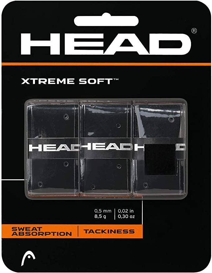 Head Xtremesoft Overgrip de Tenis, Unisex, Blanco, S: Amazon.es ...