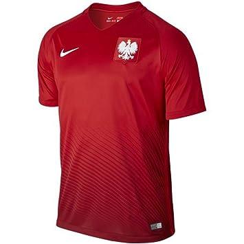Nike Pol M SS H/A Stadium JSY - Camiseta Oficial: Amazon.es: Zapatos y complementos