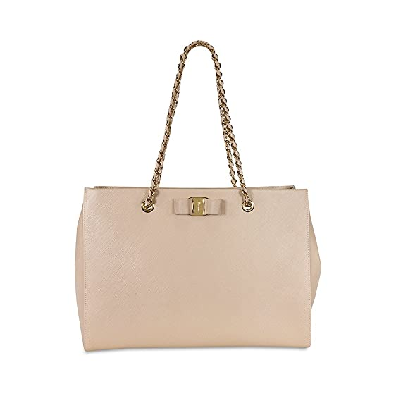... Salvatore Ferragamo Melike 21F561 Shoulder Bag New Bisque the best  attitude 255c5 9e9c0  Salvatore Ferragamo Womens ... eca098ad18b42