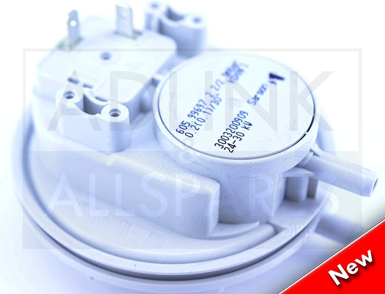 Heatline Compact C24 /& C28 Chaudière Pression d/'Air Commutateur 3003200909 NEUF