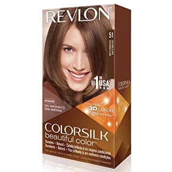 revlon colorsilk coloration des cheveux n51 light brown 591 ml - Coloration Cheveux Revlon