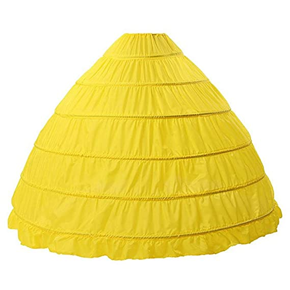 FuliMall Petticoat Hoop Falda Enagua Vestido de Novia de Largo ...
