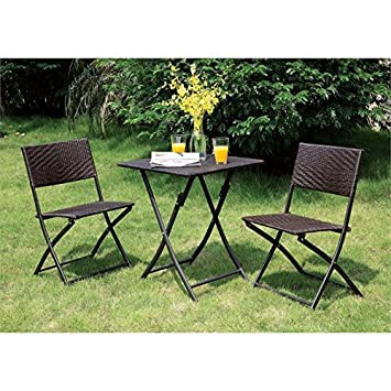 amazon co jp 家具のアメリカcandar 3 pieceパティオbistro set in