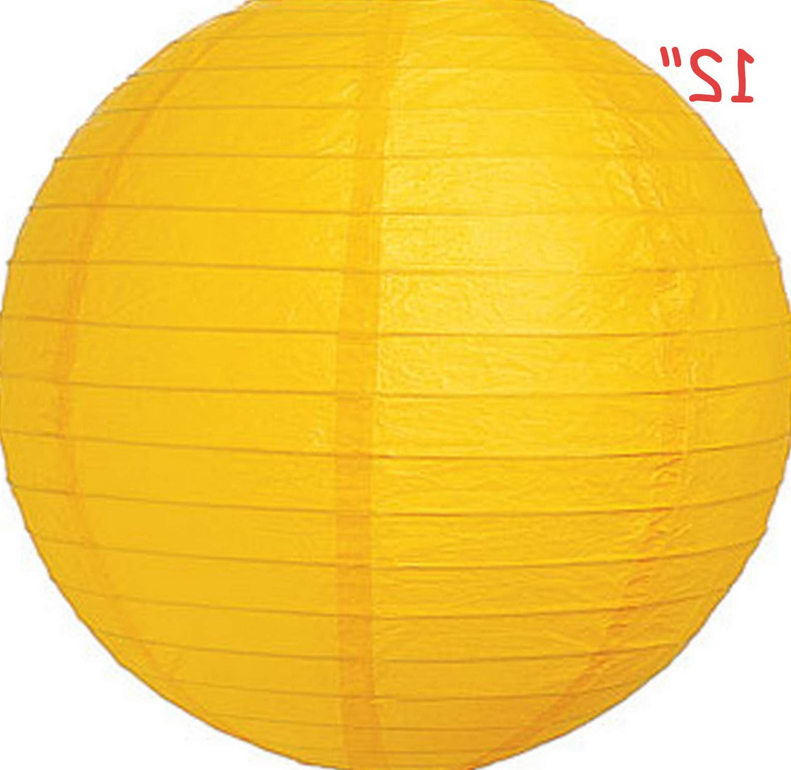 Mikash 12X Round Chinese Paper Lanterns lamp 12 Wedding Party Floral Event Decoration | Model WDDNGDCRTN - 25486 | with Light