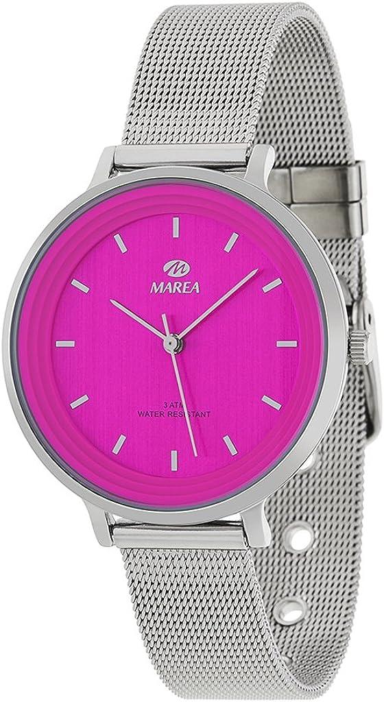 Reloj Marea Mujer B41197/5 Esterilla Rosa Fucsia