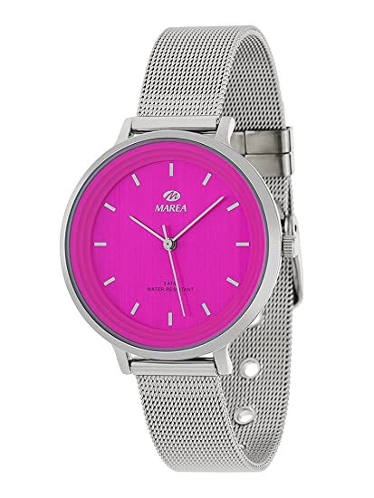 Reloj Marea Mujer B411975 Esterilla Rosa Fucsia