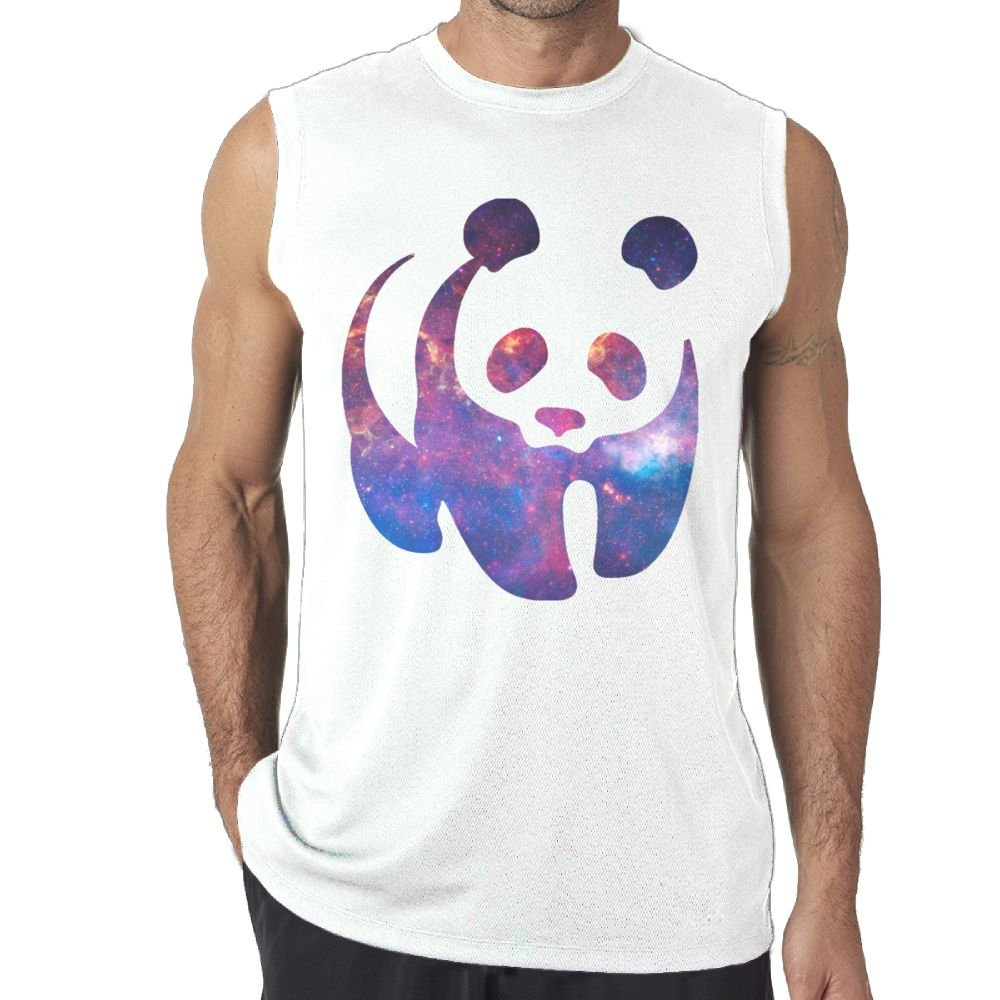 Riokk Az Sleeveless Tanks Top Shirts Fit Men Star Panda