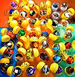 [RusToyShop] 20psc for Boys Toys From Kinder Surprise Eggs chupa-chups and otherin eggs in Shells Capsules Party Favor Toy Filled Easter Eggs