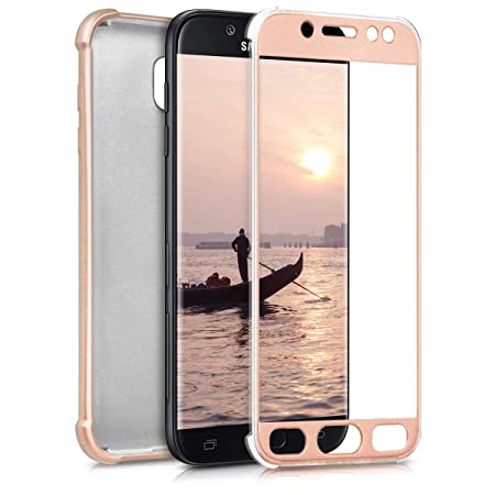 kwmobile Samsung Galaxy J5 (2017) DUOS Handyhülle - Hülle für Samsung Galaxy J5 (2017) DUOS Handy Case Cover Silikon Schutzhü