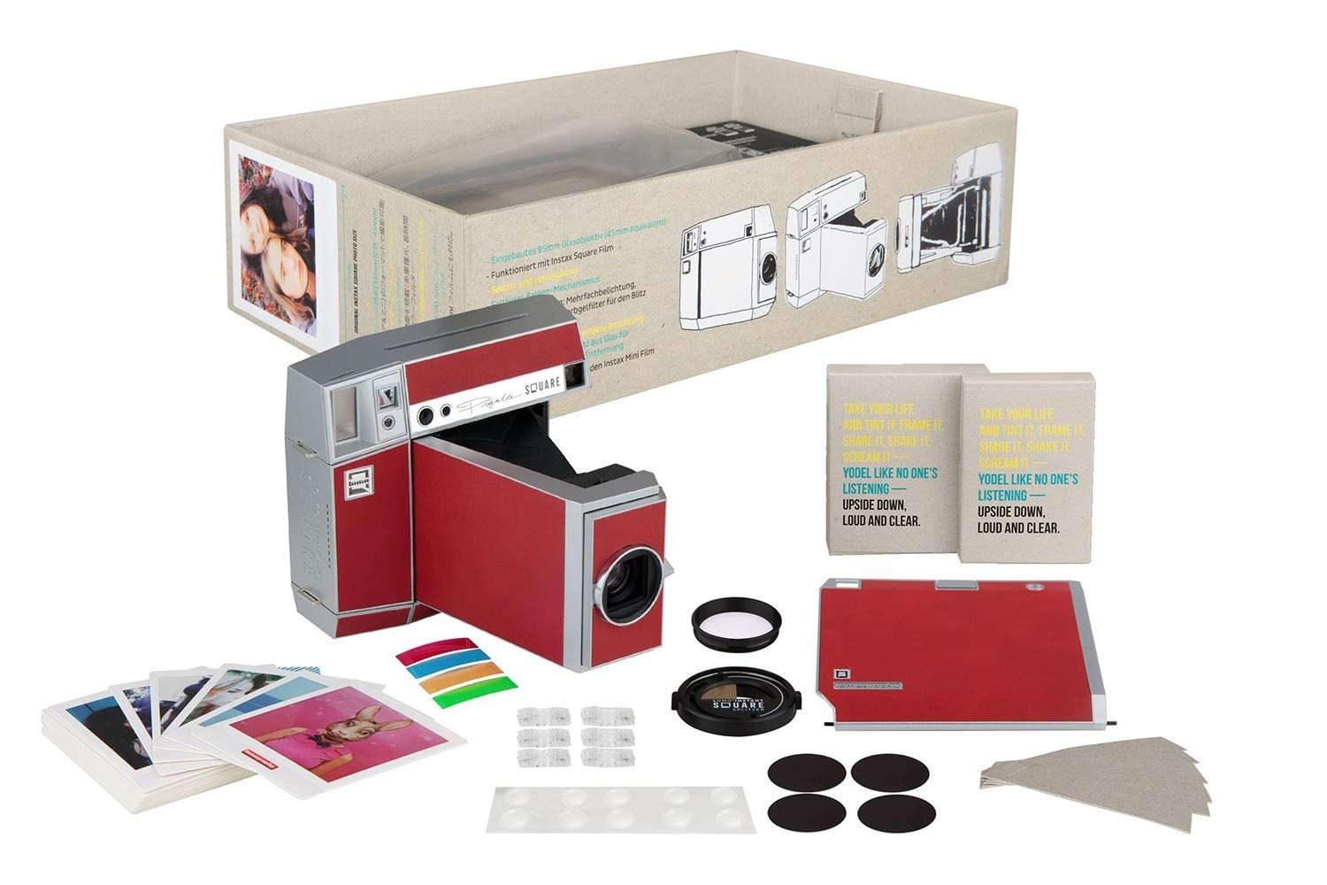 Lomography Lomo'Instant Square Glass Combo Pigalle - Instant Camera by Lomography (Image #9)