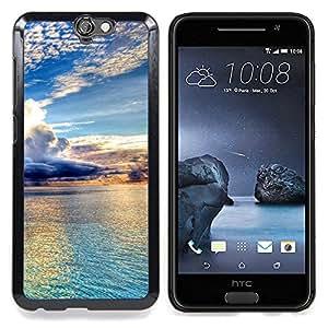 SKCASE Center / Funda Carcasa protectora - Hermosas Nubes y agua;;;;;;;; - HTC One A9
