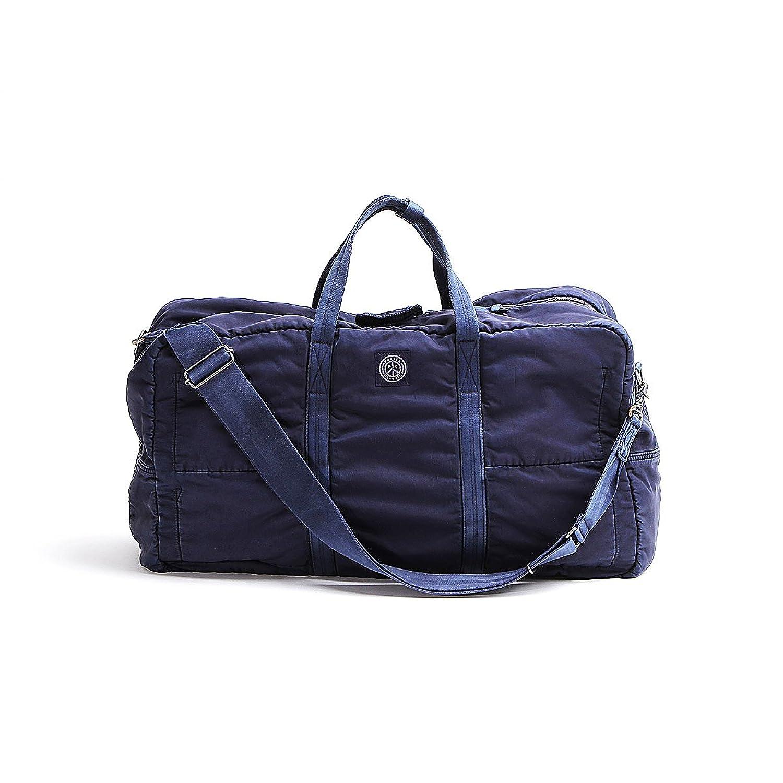 ポータークラシック ボストンバッグ トラベルボストン M SUPER NYLON 015-710 B079HQYM9Vブルー