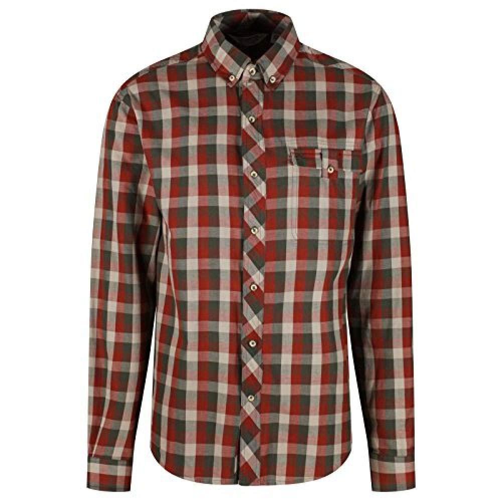 Regatta Mens Lothar Long Sleeved Check Patterned Shirt