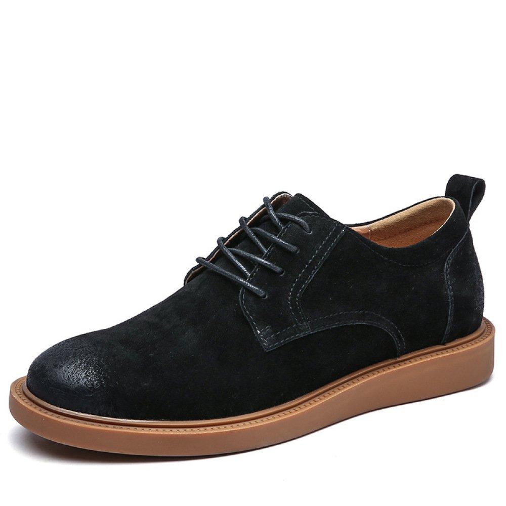 YXLONG Tooling Stiefel Herren Herbst Neue Leder-Retro-Männer-Schuhe Koreanische Version des Trends der Männer Casual Schuhe Wilde Schuhe