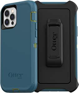 OtterBox Defender Series SCREENLESS Edition Case for iPhone 12 & iPhone 12 Pro - Teal ME About IT (Guacamole/Corsair) (77-65904)
