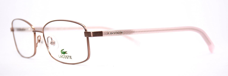 94a2027edb8 Amazon.com  Lacoste L2163 Eyeglasses 662 Satin Rose Demo Lens 5315  Clothing