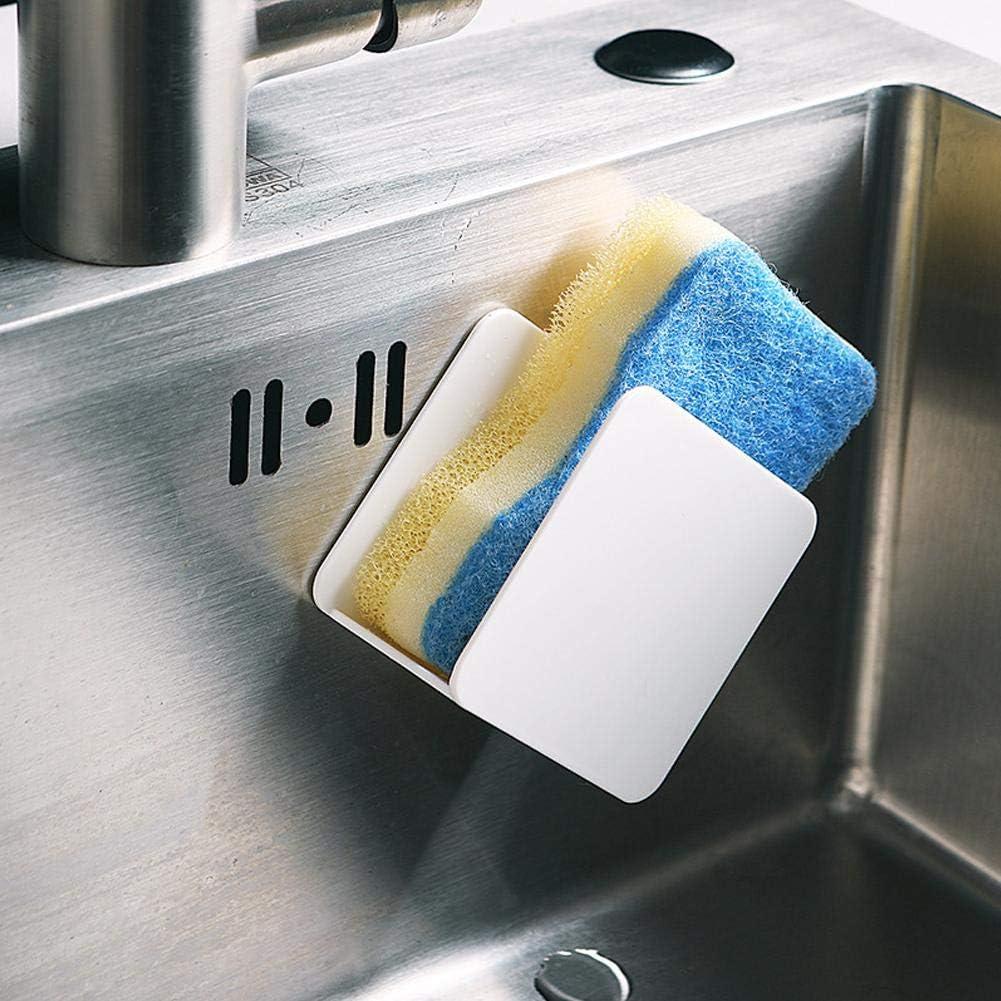 fervortop /Égouttoirs /évier de Cuisine Support /à Ventouse pour /éponges en Plastique /Étanche Durable Forte viscosit/é Commodit/é Rangement pour /éponge /à Vaisselle Porte /éponges Support d/&ea