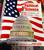 Political Science : Institutions and Public Policy, Mora, Sherri and Parent, Patricia, 0757589332