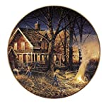 Autumn Evening Collector Plate by Terry Redlin