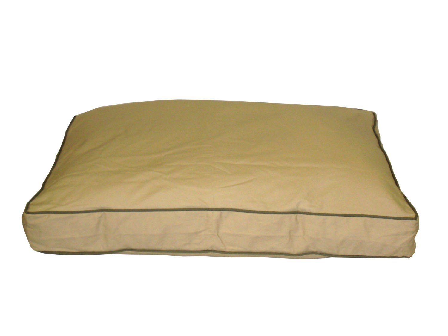 CPC Classic Twill Ex Large Rectangular Pet Bed, Khaki