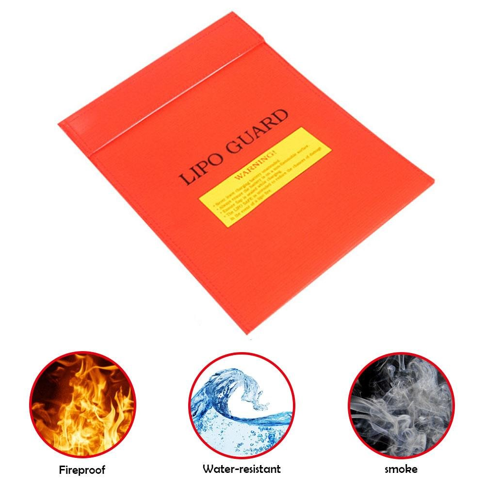 Fireproof Bag, niceeshop(TM) Fire Resistant Document Bag Fireproof Money Bag Safe Storage for Cash, Documents, Jewelry, Passport and Lipo Battery