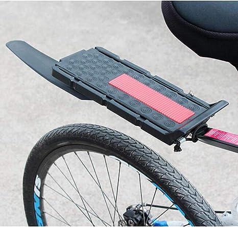YDD Asiento Trasero de Bicicleta con Guardabarros, portaequipajes ...