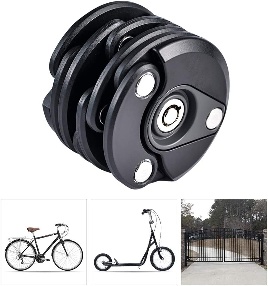 Candados Plegables Candado Bici,Impermeable Candado Bicicleta ...