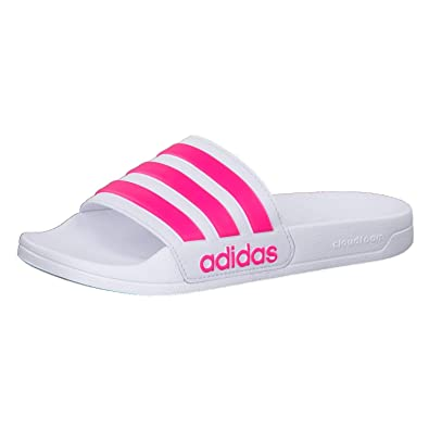 another chance c9af0 63794 adidas Adilette Shower Chaussures de Plage  Piscine Homme, Blanc (Blanco  000) 39