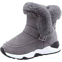 YanHoo Zapatos para niños Botas de Nieve cálidas