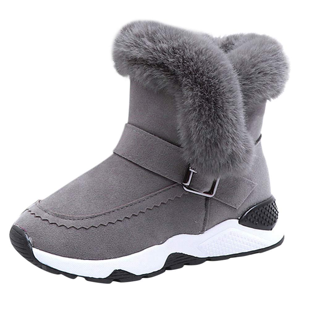 Baby Boots for 3-12 Years Old, ❤️ Xinantime Kids Infant Boys Girls Warm Boots Winter Fur Flock Snow Boots Shoe ❤️ Xinantime Kids Infant Boys Girls Warm Boots Winter Fur Flock Snow Boots Shoe