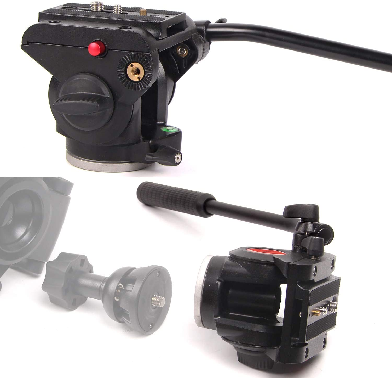 70 Aluminum Professional Video Camera Mount Leg Regetek Camera Tripod Travel Monopod Adjustable Stand with Flexible Head for Canon Nikon Dv DSLR Camcorder Gopro Cam/& Carry Bag /& Cellphone Mount