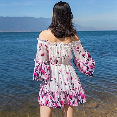 Playa Playa Resort Falda Beach Color Niña XIU De Vestidos RONG x7PvwqEn8