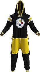 cd55c6cd7a Pittsburgh Steelers NFL Adult Onesie by Sportsedo The Makers of Hockey  Sockey