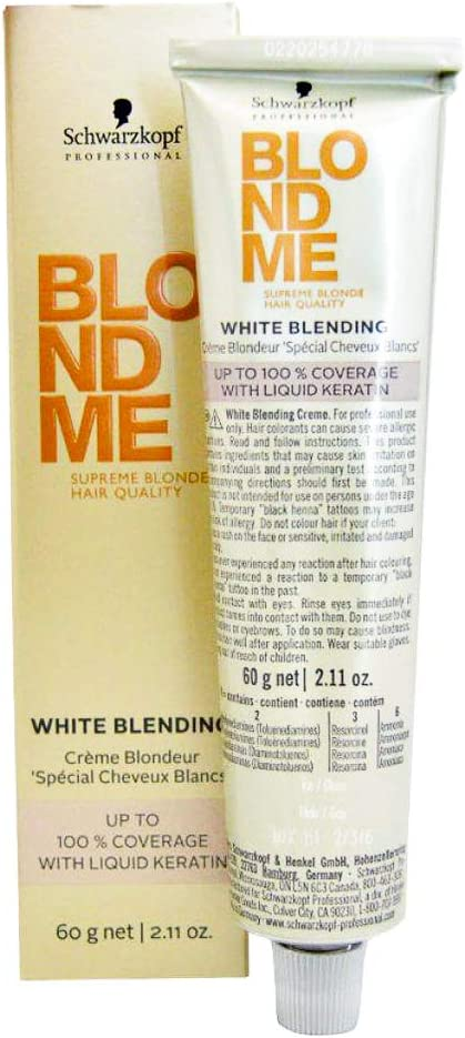 Schwarzkopf BlondeMe Aclarante, Tono Hielo - 60 ml