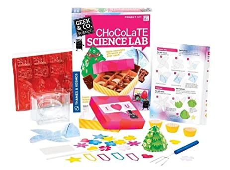 Chocolate Making Science Kit Lab Chemistry Set Kids Educational Toy Learning