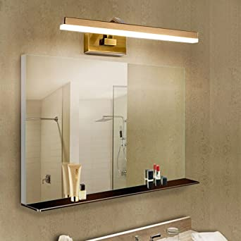 Badezimmer Waschbecken Spiegel Spiegelleuchte einfaches Badezimmer ...