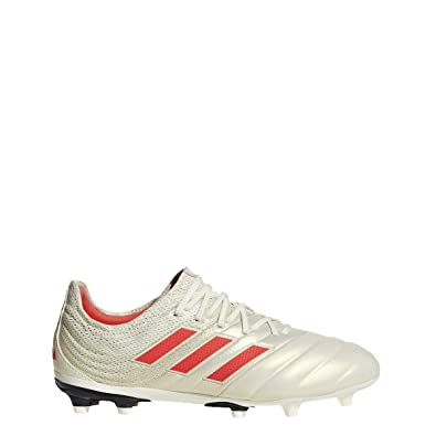 best loved 117a9 8ee91 adidas Copa 19.1 FG Cleat - Kids Soccer 4.5 Off White Solar Red White