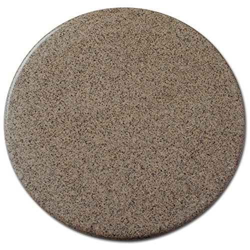 Ceramic Lazy Susan - Warm Taupe, Gloss, 16