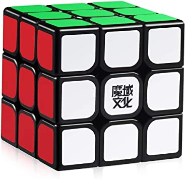 HJXDtech - Moyu Aolong V2 3X3X3 Speed Cube 2018 Puzzle 3D de Magic Cube (Negro): Amazon.es: Juguetes y juegos