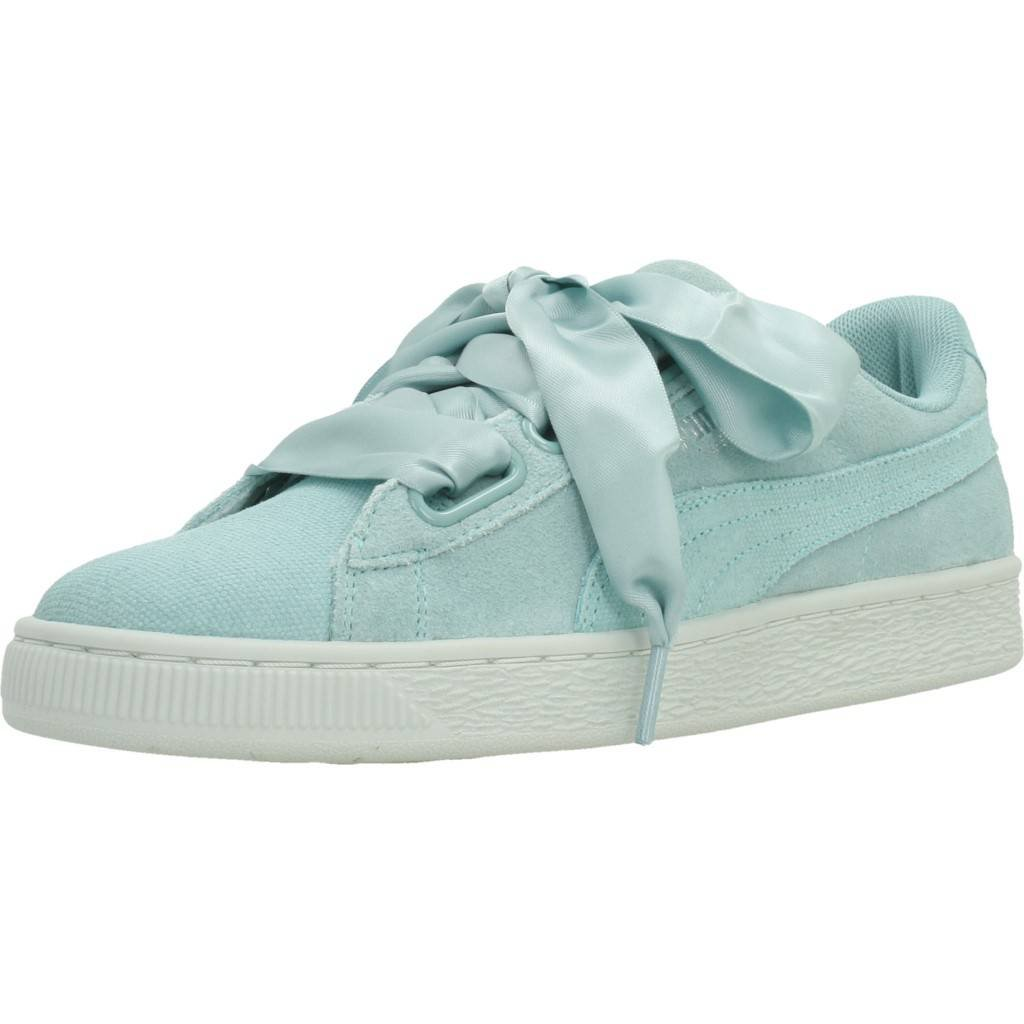 buy online 61b61 fb514 Puma Women's's Suede Heart Pebble WN's Trainers: Amazon.co ...