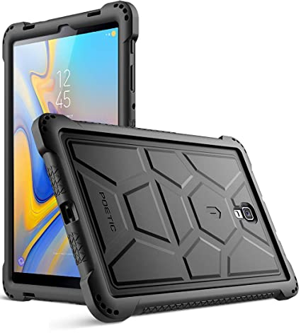 pretty nice 61fa0 40e8c Galaxy Tab A 10.5 Case, Poetic TurtleSkin Series [Corner/Bumper  Protection][Bottom Air Vents] Protective Silicone Case for Samsung Galaxy  Tab A 10.5 ...