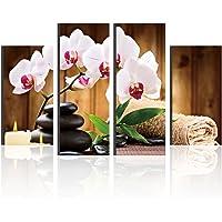 dds53914piezas orquídea mariposa impresión de flores sala de estar, decoración de la pared cuadros modernos sin Marco