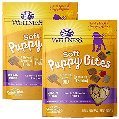 Wellness Puppy Bites Natural Grain Free Puppy Training Treats ()