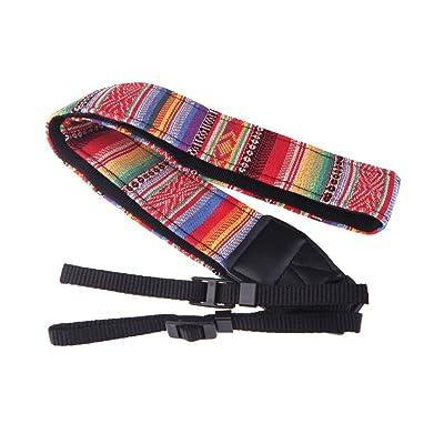 Andoer® Vendimia Camara Fotografica Correa de Hombro Cuello Sling Cinturón para Nikon Canon Sony Panasonic SLR DSLR ILDC