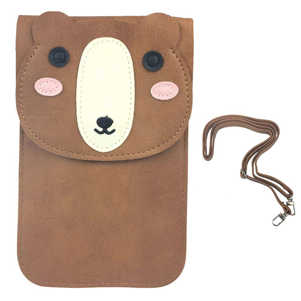 Kleidung & Accessoires Whatuneed Cell Phone Bag Animal Pu Leather Cross-body Pouch With Shoulder Strap