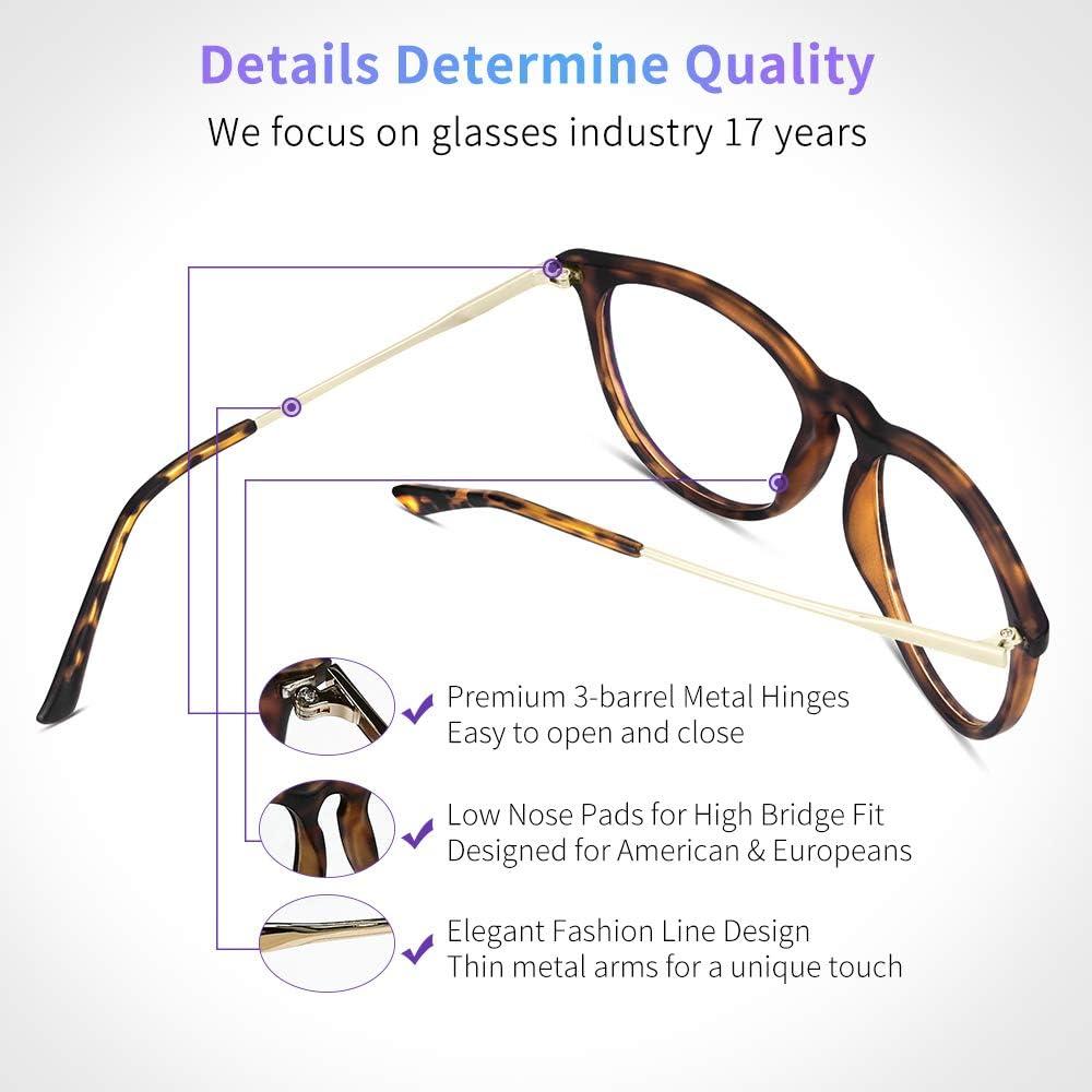 Yaroce blue light filter glasses fit guide