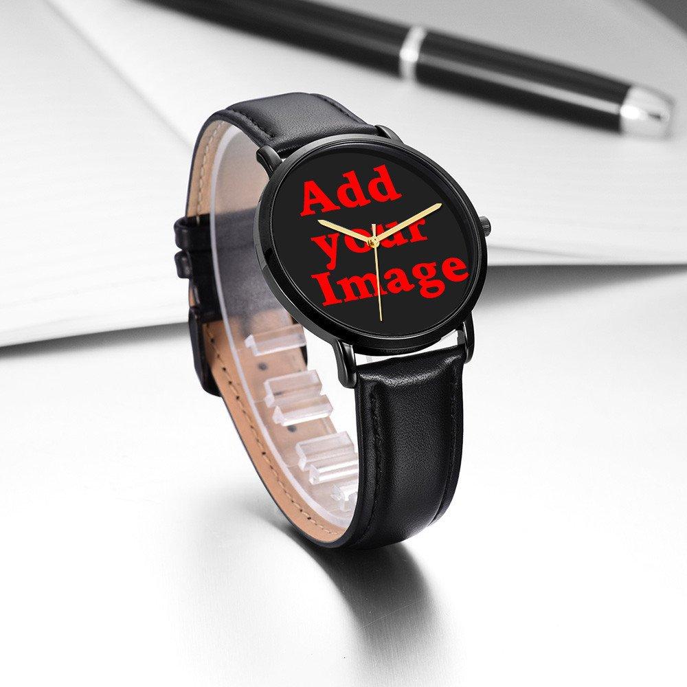 Kusa Fashion Panda Adventurer Wrist Watch, Panda Adventurer Pattern Design PU Leather with Stainless Steel Wrist Watch For Women and Men by Kusa (Image #4)