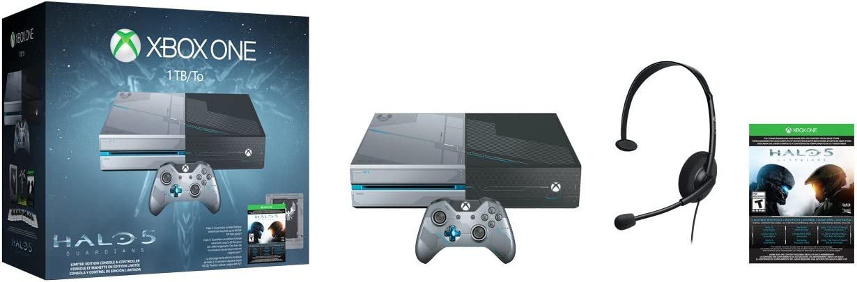 Guardians Bundle Xbox One 1TB Console Limited Edition Halo 5